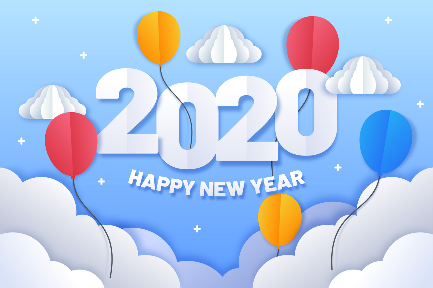 Happy New Year - Hello 2020!