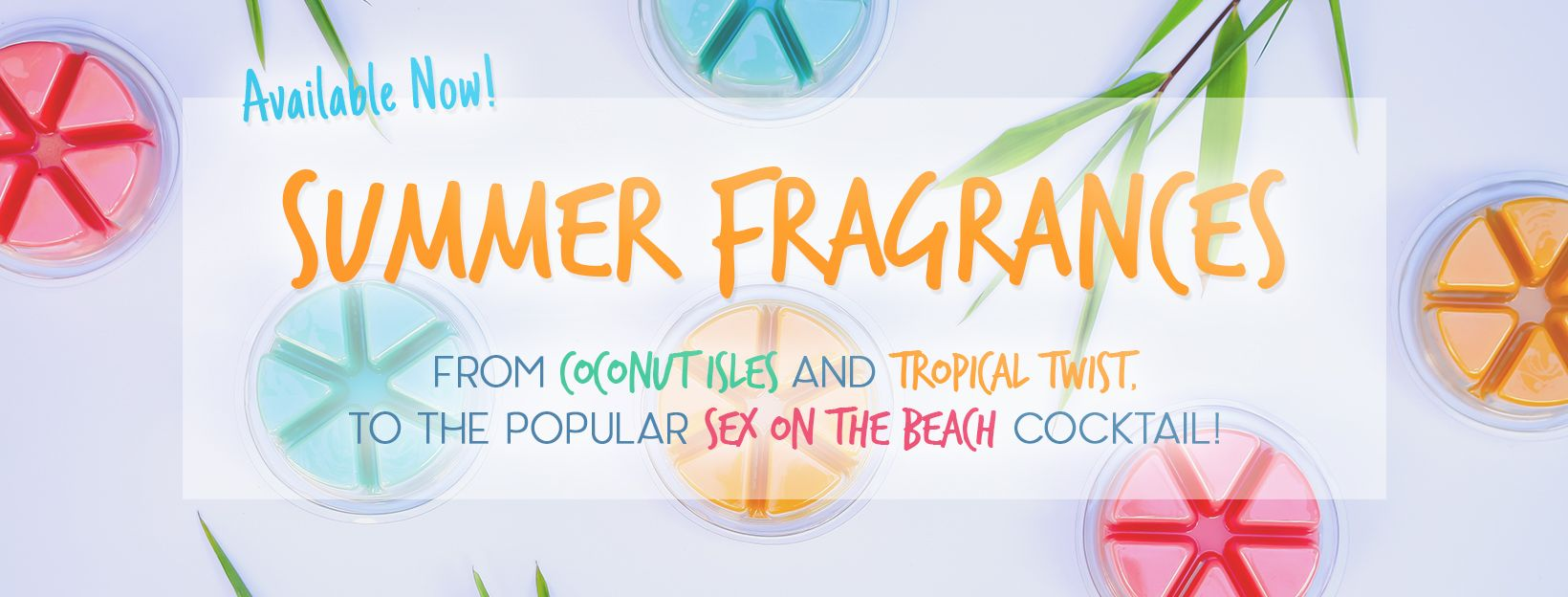 Summer Tropical Wax Melts